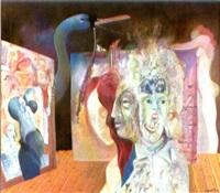 surrealistische szene by roland bugnon