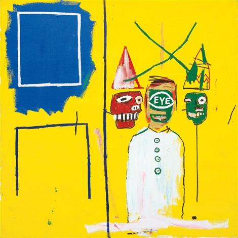 three pontificators by jean michel basquiat