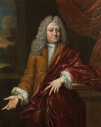 portrait of a gentlemen by mattheus verheyden