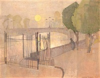 kew bridge by george tuckwell