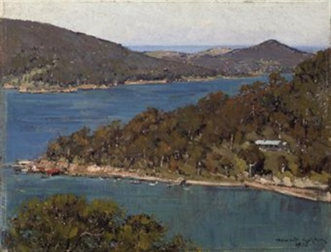 middle harbour sydney by julian howard ashton