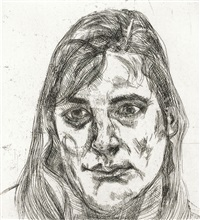 esther by lucian freud