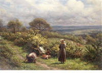 a may morning while earth herself is adorning, this sweet may-morning by james thomas linnell