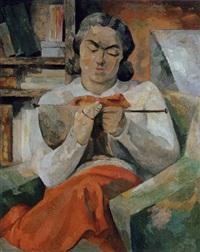 tricoteuse by andrée simon
