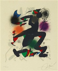 lithographia original iv by joan miró