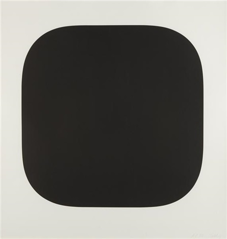 black variation ii from second curve series by ellsworth kelly