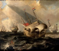 marine by cornelis hendriksz vroom