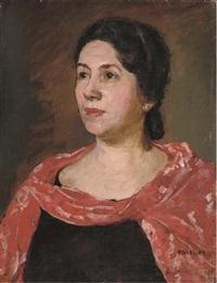 portrait of a lady by flora lion