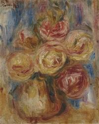 roses by pierre-auguste renoir