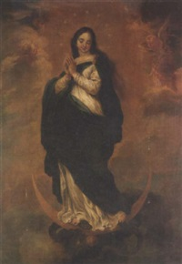 the immaculate conception by josé antolinez