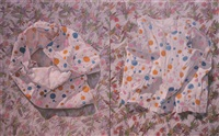 the colorful dots of the past (diptych) by marina cruz