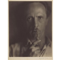 portrait of edward weston by margrethe mather