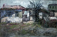 a village house by napoleon alekov