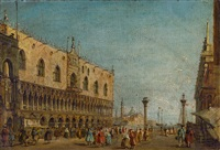 markusplatz by francesco guardi