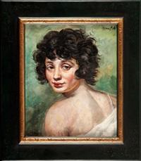 portret kobiety by roman kramsztyk