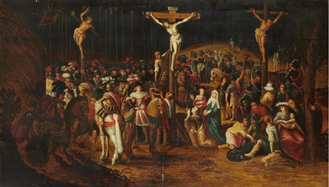 le golgotha by louis de caullery