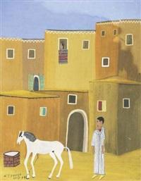 devant la kasbah by saïd aït youssef