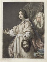 judith with the head of holofernes, after cristofano allori by mauro gandolfi