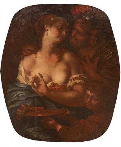 mars, vénus et cupidon by johann karl loth