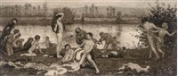 the bathers (after frederick walker) by robert walker macbeth