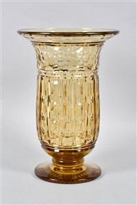 vase antar by val saint-lambert