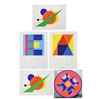 compositions set de 5 by paul ibou