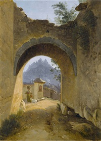 porte de sallanches by maximillian de meuron