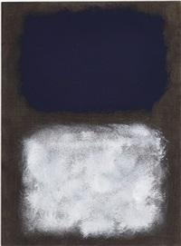 black, white, blue by mark rothko
