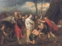 salutation de cléopâtre by jan erasmus quellinus