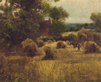 farm work by john linnell