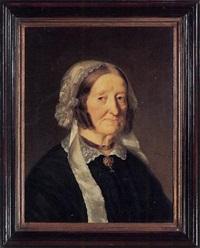 porträt frau elisabetha marty-leder by georg anton gangyner