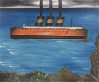 le bateau by yves tanguy