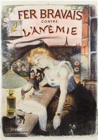 fer bravais contre l'anemie by adolphe léon willette