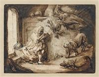 saint jérôme by constantijn daniel van renesse