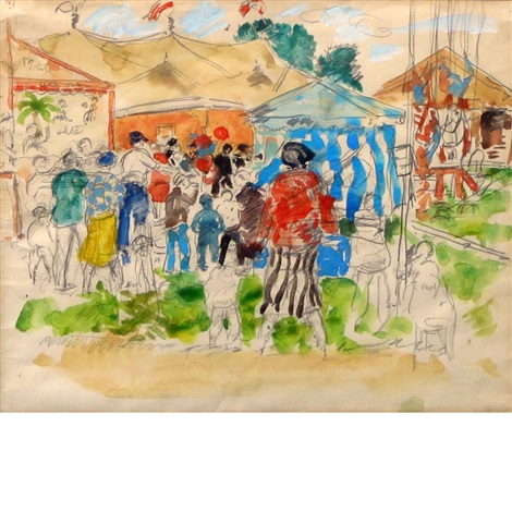 county fair by gifford beal
