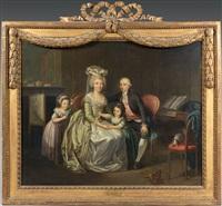 portrait de famille by charles lepeintre