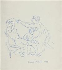 scène de famille by francis picabia