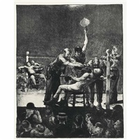 between rounds no. 1 by george wesley bellows