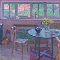 the studio interior by william ratcliffe
