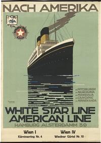 white star line/american line/nach amerika by ottomar anton