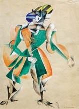 costume de carnaval dessiné pour la pièce roméo et juliette by liubov popova