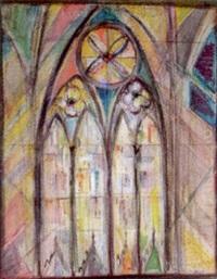 kirchenfenster by fritz arlt
