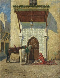 the pasha's door by addison thomas millar