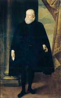 ritratto di alfonso ii d'este, a figura intera by cesare aretusi
