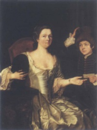 portrait of madame morehead by frans van der myn