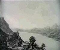 vue de lausanne, de vavai, clarens... by jean-françois albanis de beaumont