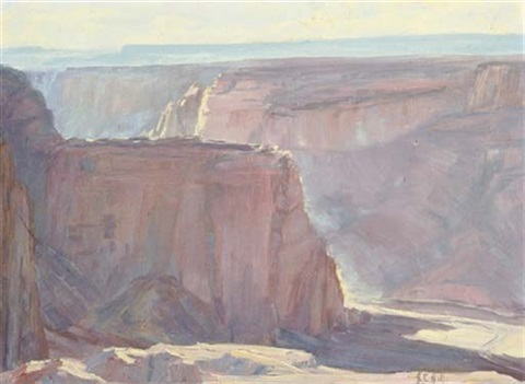 afternoon canyon de chelly by helen cozens hill