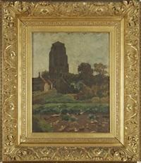 vue de la tour de zierikzee by nicolaas bastert