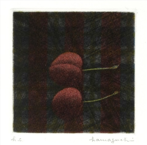 two cherries by yozo hamaguchi