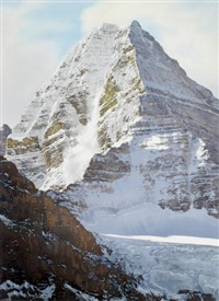 white thunder, mt. assiniboine by simon camping